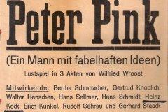 1946/1947 - Peter Pink