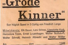 1947/1948 - Grode Kinner