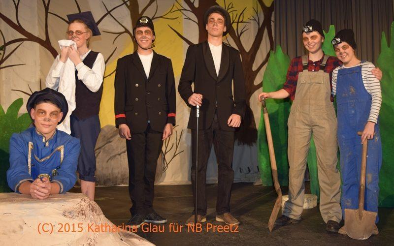 Niederdeutsche Bühne Preetz Kiel Philly Phantastico
