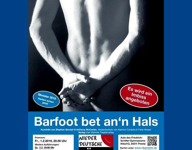 """""""Barfoot bet an'n Hals"""" an Silvester in Preetz"""