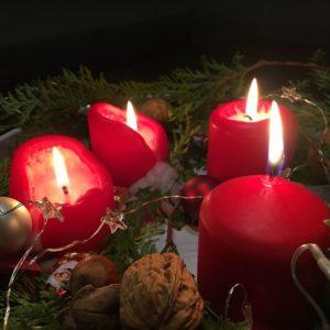 Allen einen schönen vierten Advent 🕯🕯🕯🕯