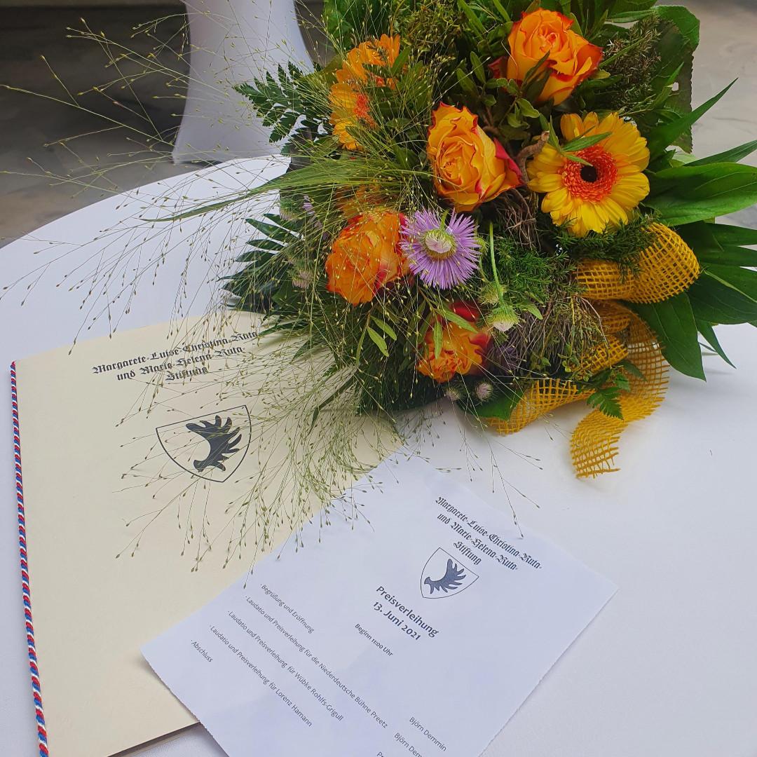 Ruta-Gedächtnispreis-Verleihung 2021